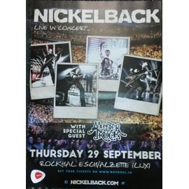 Nickelback - Live in Concert - AFFICHE / POSTER envoi en tube - 40x60 cm