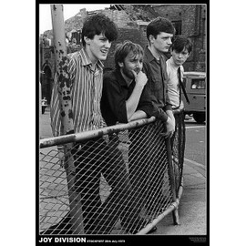 Joy Division - Stockport Juillet 1979 - AFFICHE / POSTER envoi en tube - 59x84 cm