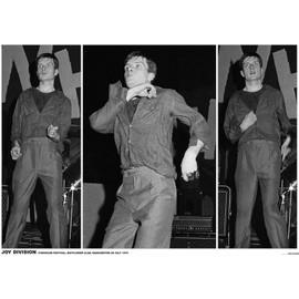 Joy Division - Ian Curtis - Manchester Juillet 1979 - AFFICHE / POSTER envoi en tube - 59x84 cm