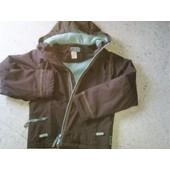 Coupe-Vent Decathlon Imperméable Extérieur Polaire Intérieur Polyester 10  Ans Marron e362a544fa7