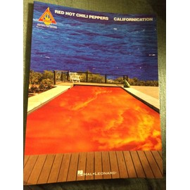 Red Hot Chili peppers - Californication - album chant guitare tablatures