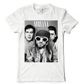 T-Shirt Fan de... Nirvana trio