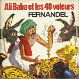 ali-baba et les 40 voleurs (adapt. tante laura) 1ère partie 5'10 - ali-baba (P. misraki - J. manse) 0'25 / ali-baba et les 40 voleurs (adapt. tante laura) fin 6'00 (Livre disque)