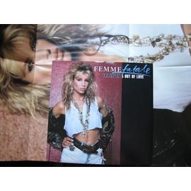 Femme Fatale Falling in & out of love Maxi 45t avec poster et une reprise de AC/DC