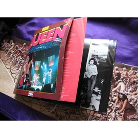 Queen Golden Collection Double album pochette ouvrante Jazz & News of the world avec poster