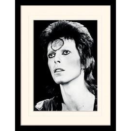 David Bowie Poster De Collection Encadré - Portrait (40x30 cm)