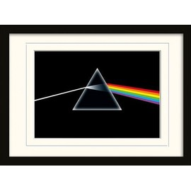 Pink Floyd Poster De Collection Encadré - Dark Side Of The Moon (30x40 cm)
