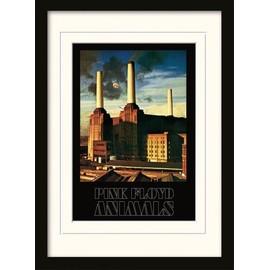 Pink Floyd Poster De Collection Encadré - Animals (40x30 cm)