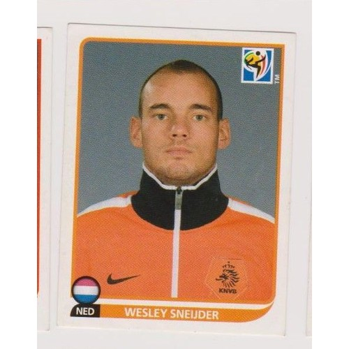 Image panini southe africa 2010 wesley sneijder 346