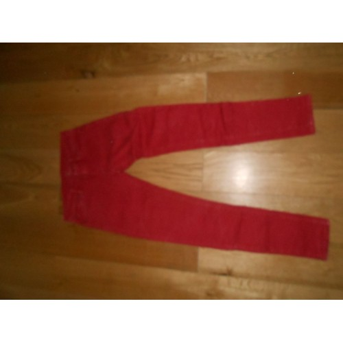 Pantalon <strong>ralph</strong> <strong>lauren</strong> elasthanne fr 36 us 26 27 rouge