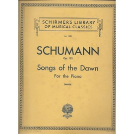 schumann op. 133 - songs of the dawn for the piano. (vol.1380)