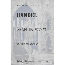 händel israel in egypt. - sacred oratorio