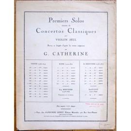Viotti-Premiers solos extraits de concertos classiques violon- 20 èm concerto