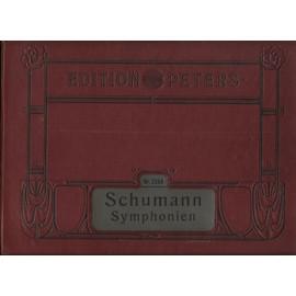 NR. 2348 - robert schumann's sämtliche werke. symphonien für pianoforte zu 4 bänden.
