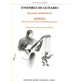 Adagio pour instrument soliste et ensemble de guitares