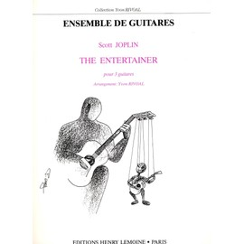 The Entertainer pour 3 guitares