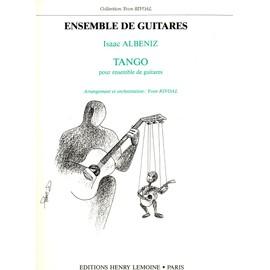 Tango - Albeniz 5 Guitares