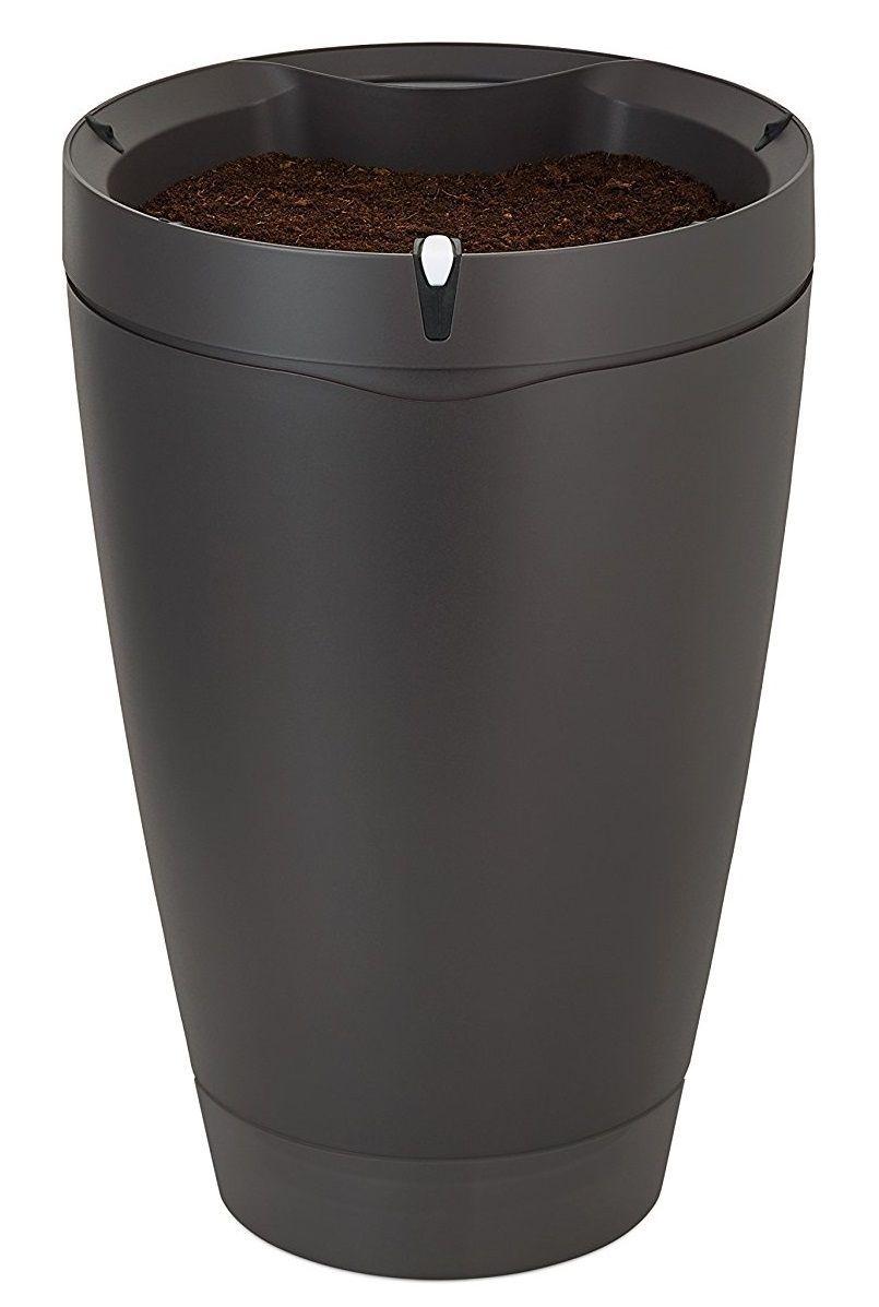 Parrot POT - Pot de fleurs intelligent et connecté pour plantes - noir ardoise