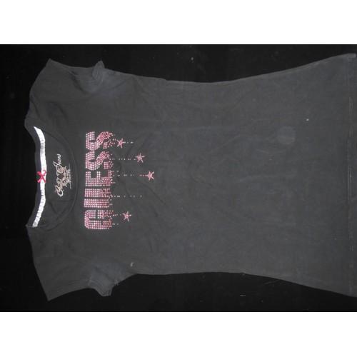 T shirt <strong>guess</strong> m noir