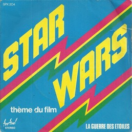 "thème du film ""la guerre des étoiles"" : star wars 2'25 part 1 (J. williams)  /  star wars 2'27 part 2 (J. williams)"