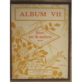 Album VII Rien que du moderne