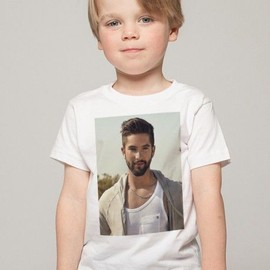 T-Shirt Enfant Blanc Fan de... Kendji le rêve continue