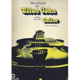 The Music Of Elton John Made Easy For Guitare