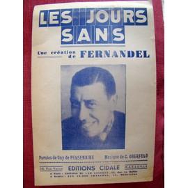 Les Jours Sans - Fernandel
