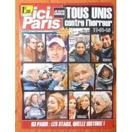 AFFICHE PLIéE FORMAT 80X60 ICI PARIS RENAUD LAURA SMET DANY BOON JULIE GAYET