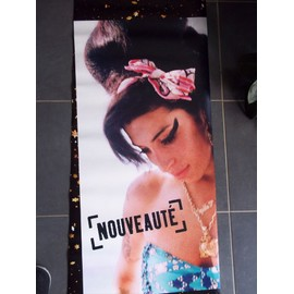 Superbe affiche Amy Winehouse, hors commerce