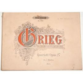Quartett opus 27