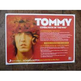 Bulletin de précommande DVD Tommy The Who