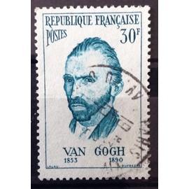 France - Personnages Etrangers - Vincent Van Gogh (Peintre Néerlandais) 30f (Très Joli n° 1087) Obl - Cote 3,60€ - Année 1956 - N12689