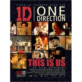 "AFFICHE FILM ONE DIRECTION ""THIS IS US"""