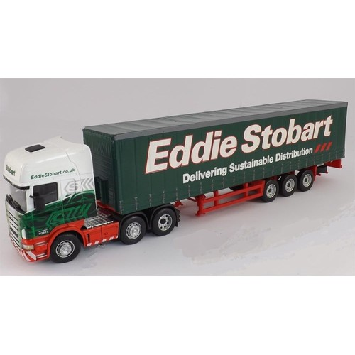 11 50 camion scania r 6x2 semi remorque eddie stobart. Black Bedroom Furniture Sets. Home Design Ideas