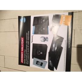 JOHNNY HALLYDAY PLV format 33 t FNAC RESTER VIVANT TOUR