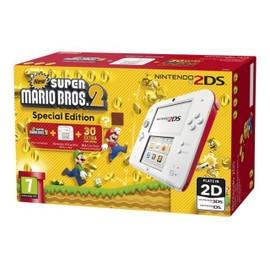 Image Nintendo 2ds New Super Mario Bros. 2 Special Edition Console De Jeu Portable Blanc, Rouge New Super Mario Bros 2