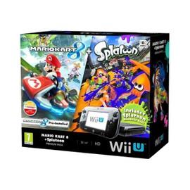 Image Nintendo Wii U Mario Kart 8 + Splatoon Wii U Premium Pack Console De Jeux Full Hd, 1080i, Hd, 480p, 480i Noir Mario Kart 8
