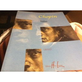 Chopin VALSES (nouvelle edition revue ET corrigée)(1992). 94 pages