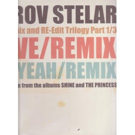 "12"" MAXI the remix and re-edit trilogy part 1/3 LOVE/REMIX - OH YEAH/REMIX"