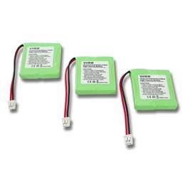 Occasion, vhbw 3x NiMH batteries 600mAh (2.4V) pour téléphone portable, Smartphone Sagem DCP 12-300, DCP 21-300, DCP 22-300 comme 5M702BMXZ, 82H, BC102168. d'occasion  Livré partout en France