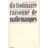 Dictionnaire Raisonne De Mathematiques de Warusfel, Andr�
