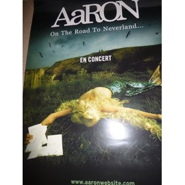 "Affiche - aAron ""On the road to neverland"""