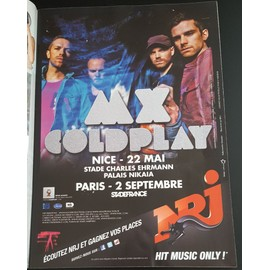 poster a4 coldplay