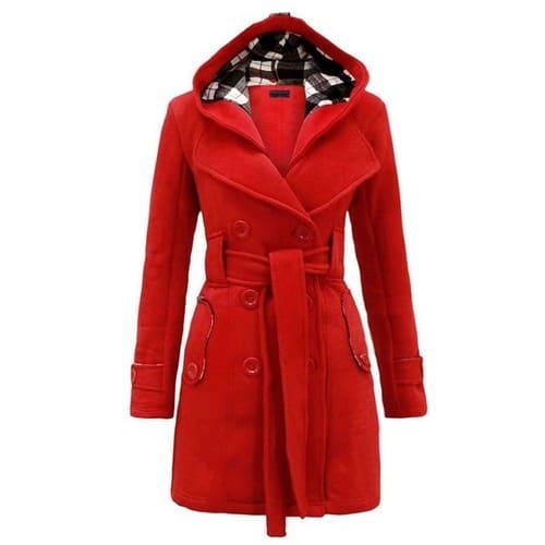 7da7a3af1af38 Manteau A capuche mode elégant femmes veste  strong parka  strong  chaud