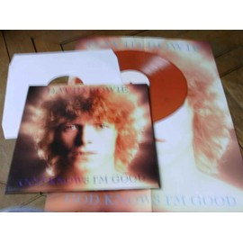 God knows i'm good LP + poster Demos space oddity