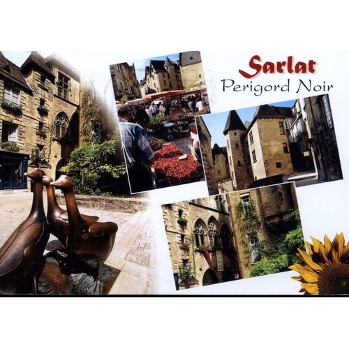 Carte postale de sarlat dordogne 4 vues