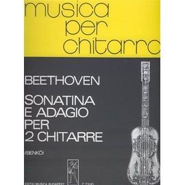 BEETHOVEN sonatina e adagio FOR TWO GUITARS