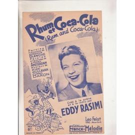 rhum et coca-cola par Eddy Rasimi