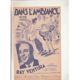 "Dans l'ambiance ""in the mood""  RAY VENTURA"